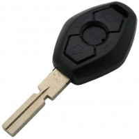 BMW DIAMOND 3 BUTTON REMOTE SHELL HU-92