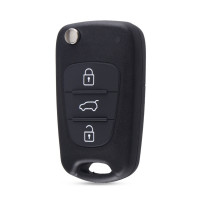 HYUNDAI & KIA 3 BUTTON FLIP REMOTE NO BLADE INCLUDED